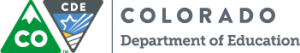 Colorado Department of Ecucation Logo