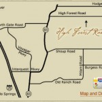High Forest Ranch Map