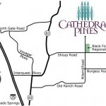 Cathedral Pines Location Map
