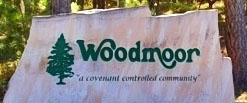 Woodmoor Logo Sign