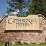 Cathedral Pines Logo Sign 1